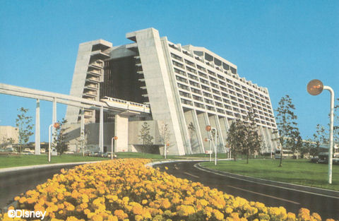 Contemporary Resort - 1970's