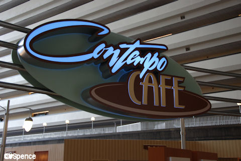 Contempo Cafe Sign