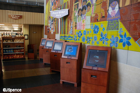 Contempo Cafe Ordering Stations