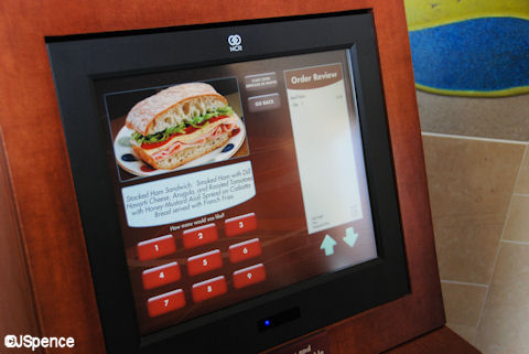Contempo Cafe Ordering Station