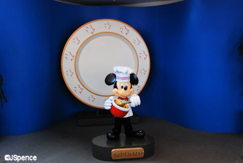Chef Mickey Photo Op