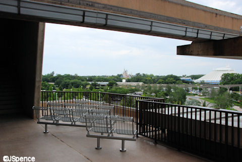 Fourth Floor Fireworks Observation Platform
