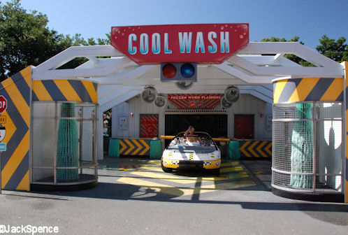 Cool Wash Near Test Track in Epcot