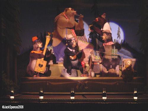Country Bear Theater Tokyo Disneyland