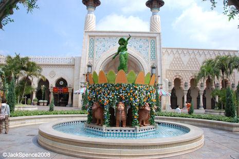 Courtyard Arabian Coast - Tokyo DisneySea