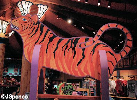 Creature Comforts Tiger
