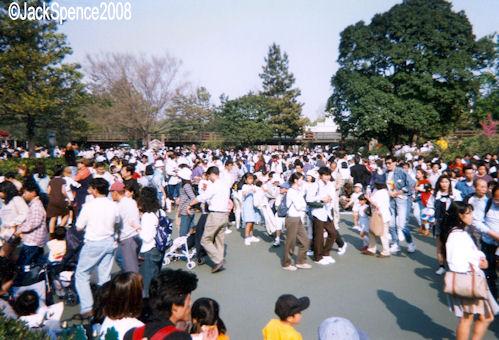 Afternoon Crowd  Tokyo Disneyland