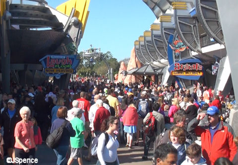 Crowds in Tomorrowland