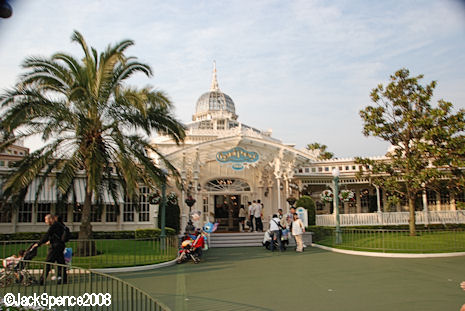 Crystal Palace at Tokyo Disneyland