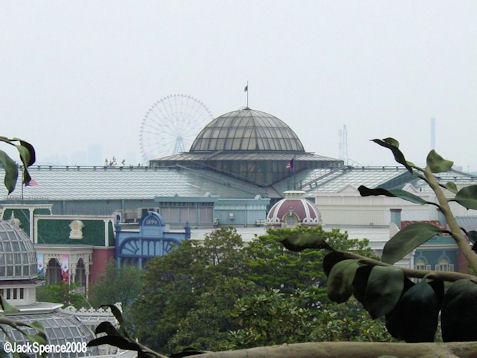 Cupola World Bazaar at Tokyo Disneyland