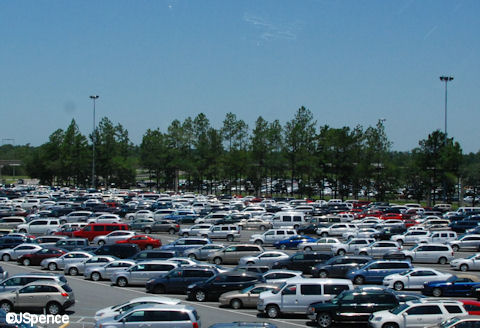 Epcot Parking Lot