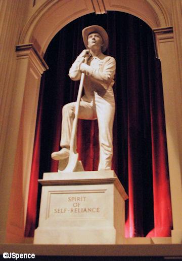 American Adventue Statue