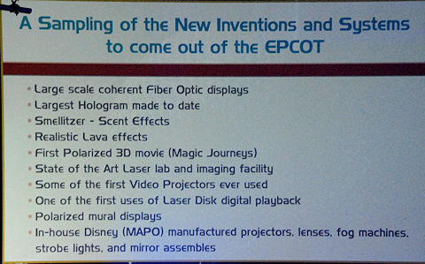 Inventions of Epcot