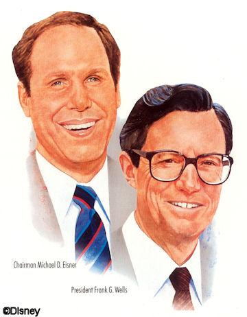 Michael Eisner & Frank Wells
