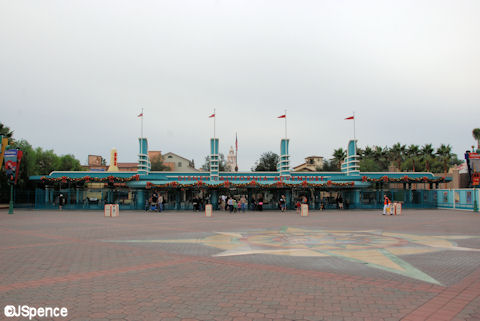 New DCA Entrance