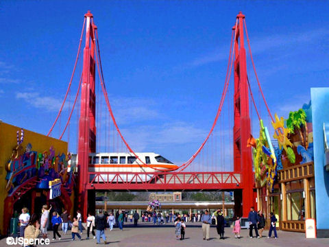 Golden Gate Bridge and Monorail