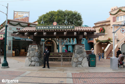 Buena Vista Street Trolley Station