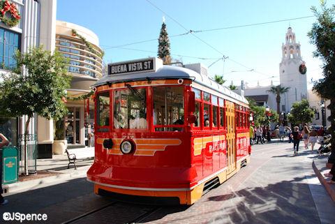 Buena Vista Street Trolley