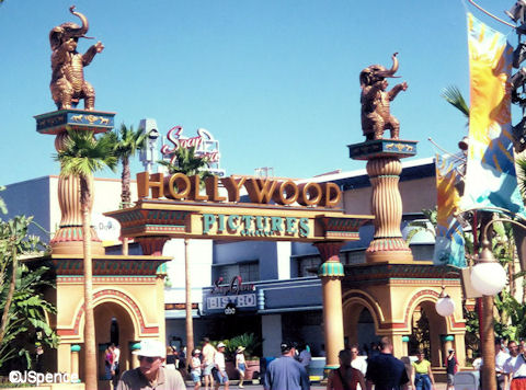 Hollywood Backlot Pictures Entrance