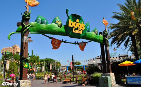 A Bug's Land Main Entrance