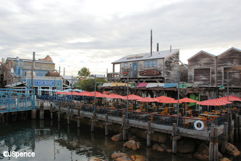 Pacific Wharf Seating