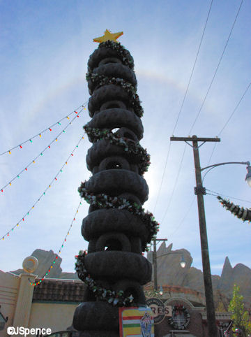 Leaning Tower of Tires