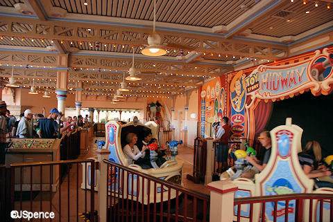 Toy Story Loading Area