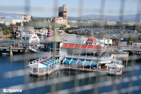 The views from Mickey's Fun Wheel