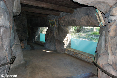 Otter Viewing Area