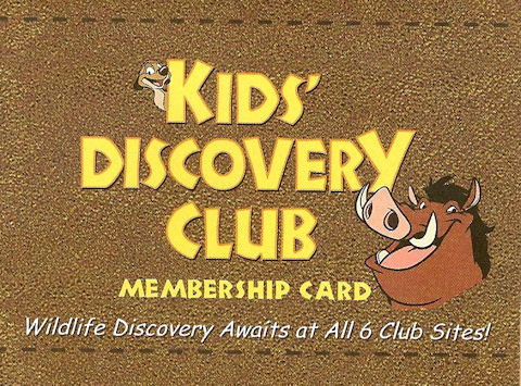 Kid's Discovery Club