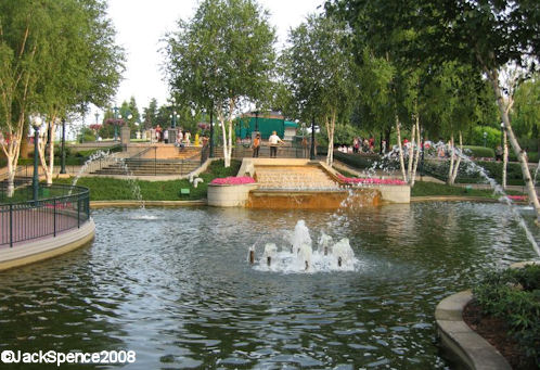 Fantasia Gardens at Disneyland Paris