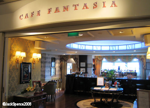 Cafe Fantasia Disneyland Hotel at Disneyland Paris