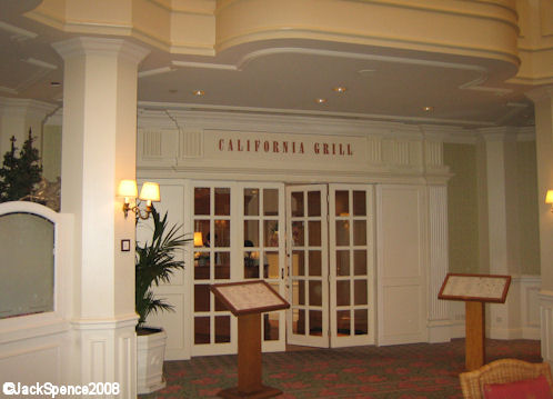 California Grill in the Disneyland Hotel at Disneyland Paris
