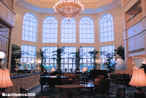 Disneyland Hotel at Hong Kong Disneyland