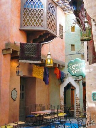 Agrabah Café  Adventureland Disneyland Paris