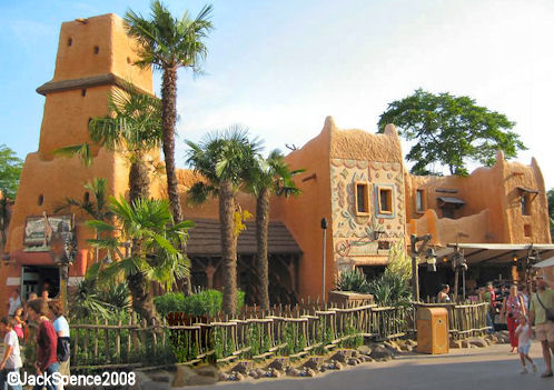 Timon and Pumba's Africa in Adventureland Disneyland Paris