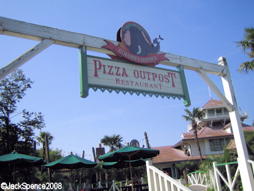 Colonel Hathi's Pizza Outpost in Adventureland Disneyland Paris