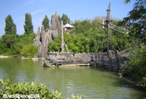 Disneyland Paris, Skull Rock