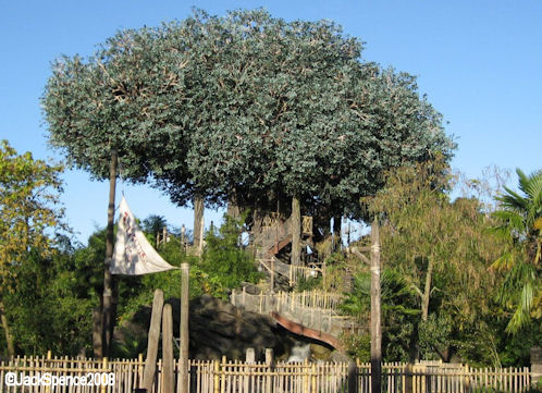 Disneyland Paris Swiss Family Robinson Tree House