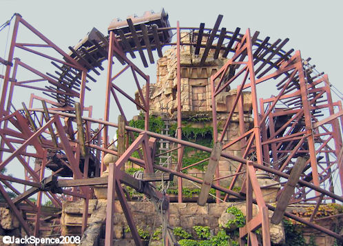 Disneyland Paris Adventureland Indiana Jones et le Temple du Péril