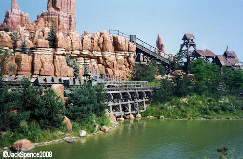 Disneyland Paris Big Thunder Mountain