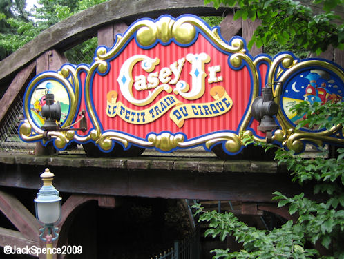 Disneyland Paris Fantasyland Casey Jr.