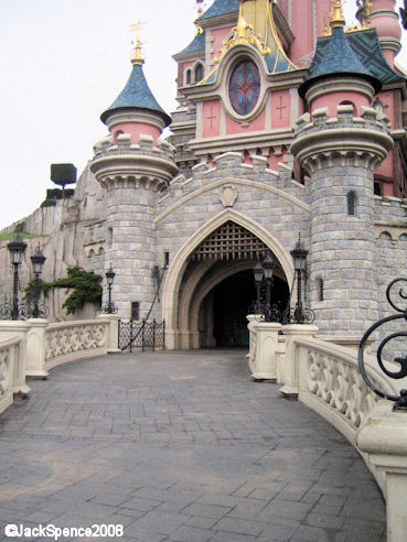 Disneyland Paris Sleeping Beauty Castle