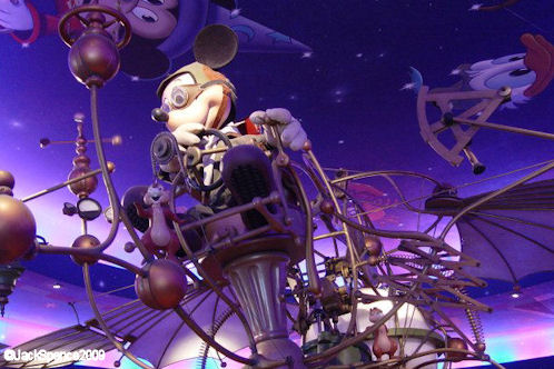 Disneyland Paris Discoveryland Constellations