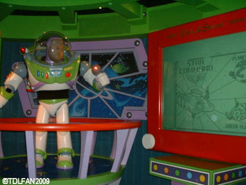 Disneyland Paris Discoveryland Buzz Lightyear Laser Blast