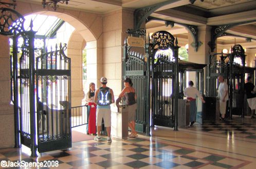 Disneyland Paris Entrance Gate