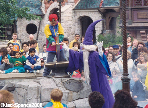 Disneyland Paris Fantasyland Merlin