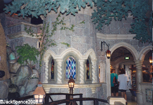 Disneyland Paris Fantasyland Seven Dwarf's cottage