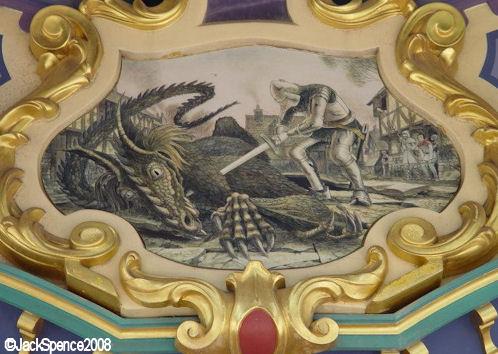 Disneyland Paris Fantasyland Le Carrousel de Lancelot