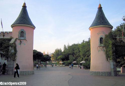 Disneyland Paris Fantasyland Entrance